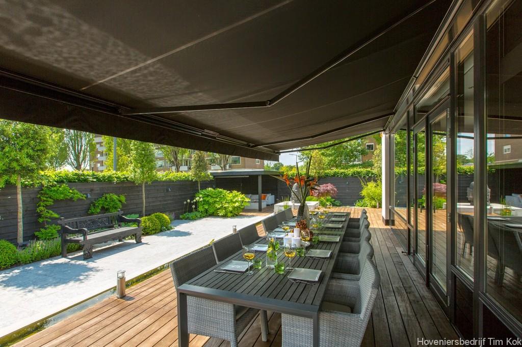 Grote Moderne Tuin : Welnesstuin rotterdam hillegersberg hoveniersbedrijf tim kok