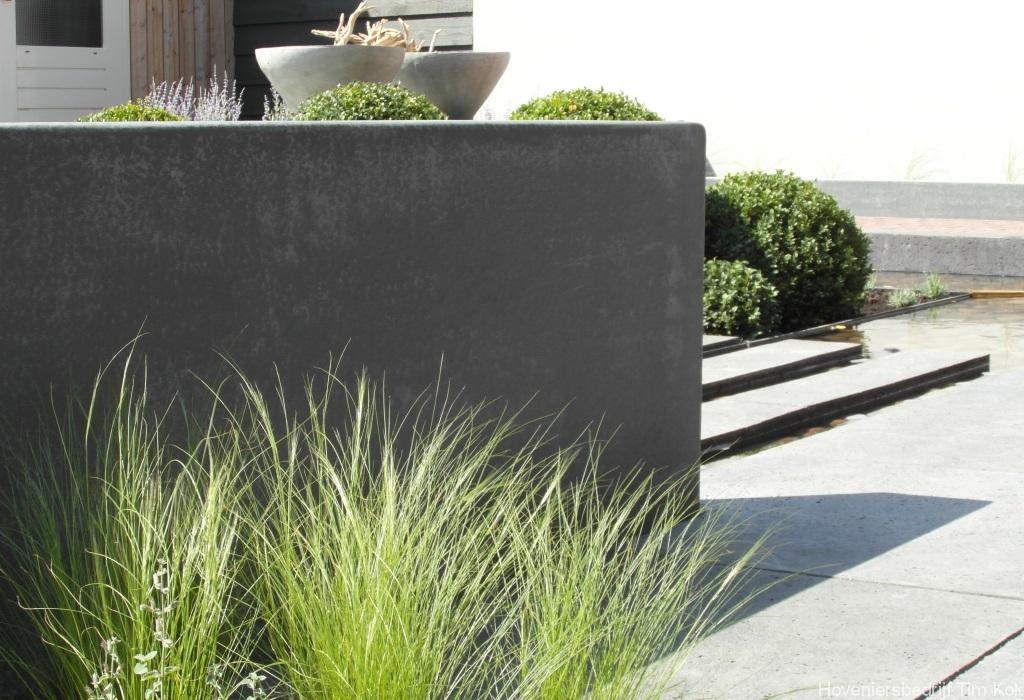 Tuin in rhoon hoveniersbedrijf tim kok for Tuinarchitect modern strak