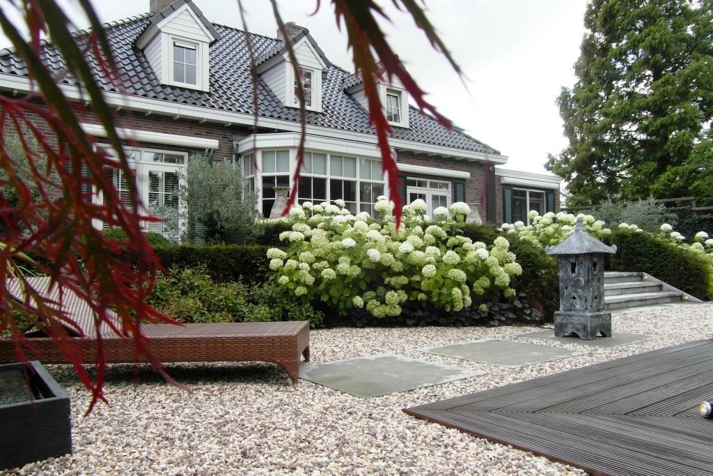 Tuin Met Grind : Stijlvolle tuin bij notariswoning rhoon hoveniersbedrijf tim kok