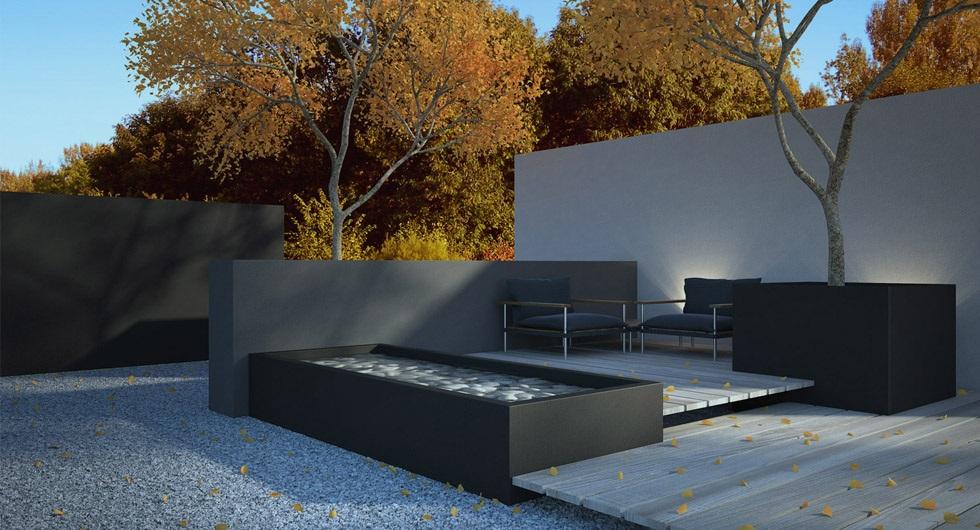 Moderne muurelementen iets voor uw tuin hoveniersbedrijf tim kok - Deco lounge oud en modern ...